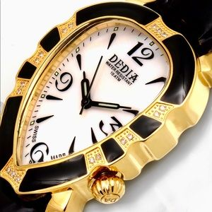 Accessories - Dedia Lily Diamond Embellished Watch